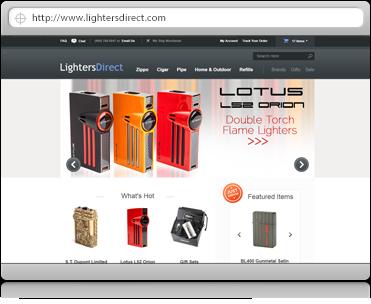 lighters-ecommerce-design