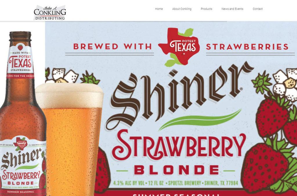 wordpress site development distribution alcohol